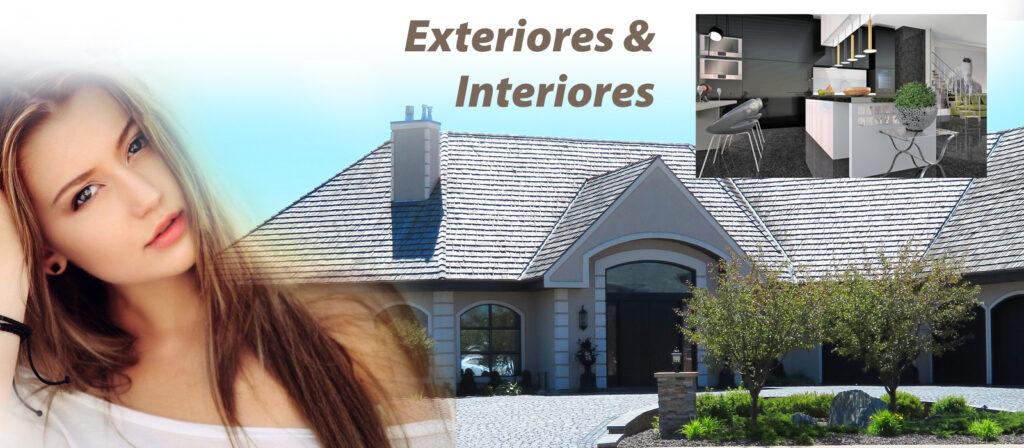 Venta de materiales para acabdos decorativos para exteriores e interiores