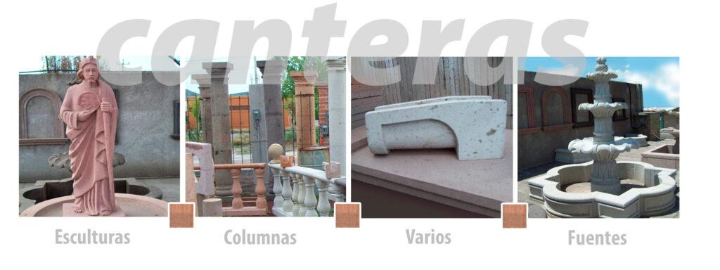 Venta de columnas y esculturas de cantera