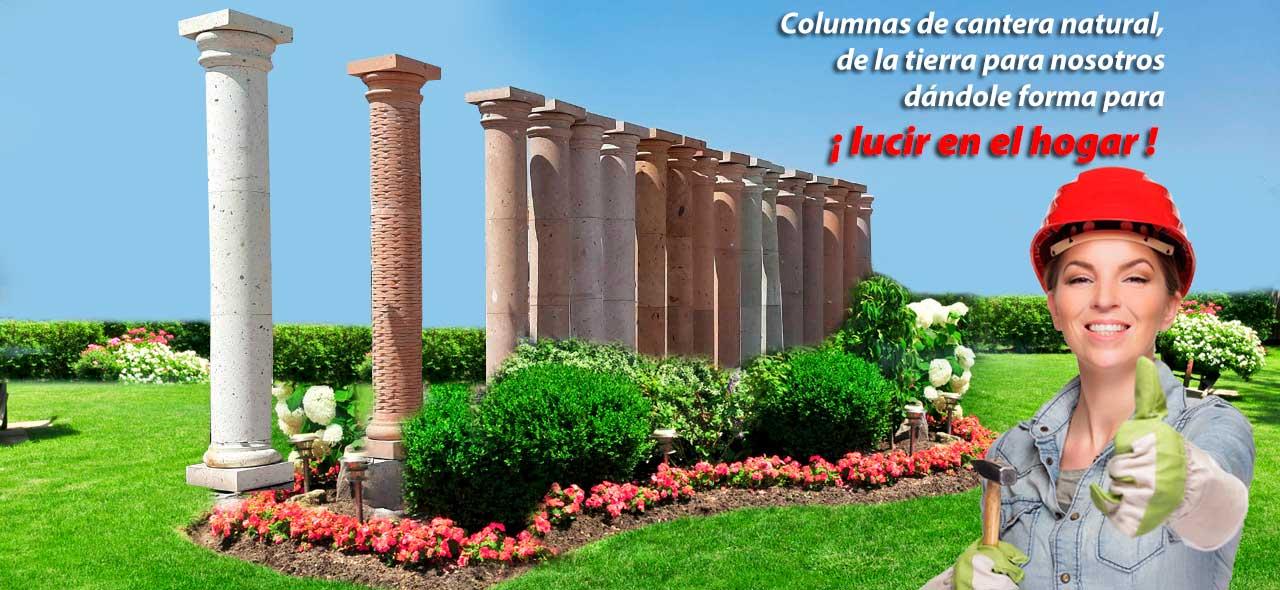 Columnas de cantera